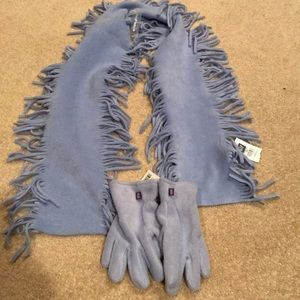 NWT GAP Kids scarf & gloves